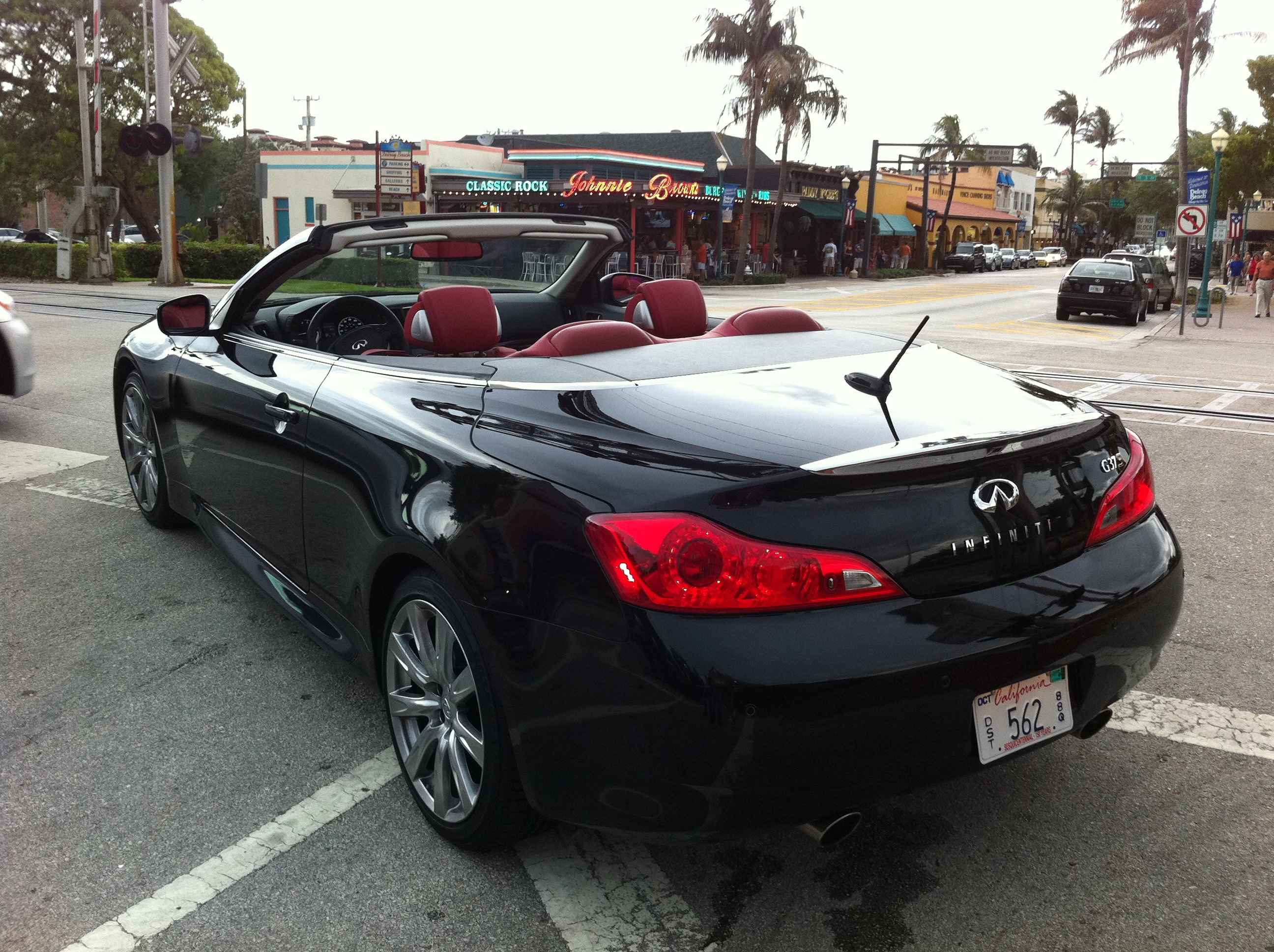 gallery infinity custom body kit by infiniti for convertible vossen and white carid rims photo