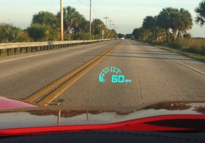 Heads up display speedometer - Mighty Car Mods Official Forum