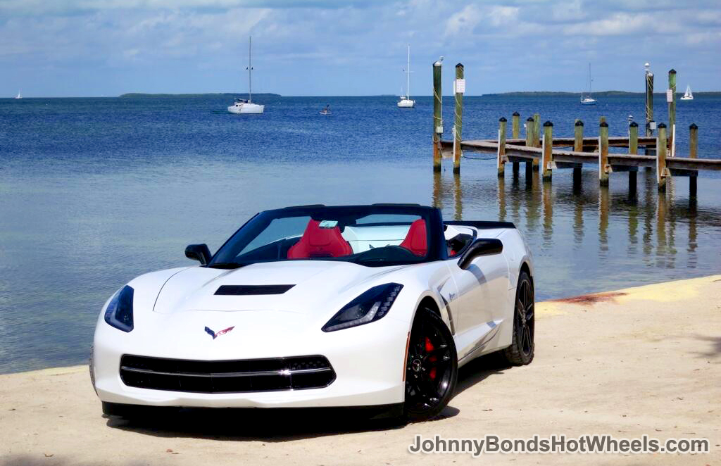 White 2014 Corvette Stingray